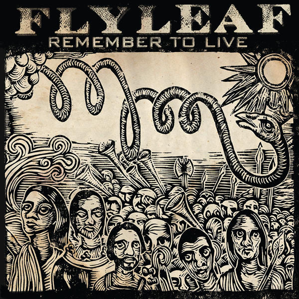 Flyleaf: Remember To Live CD