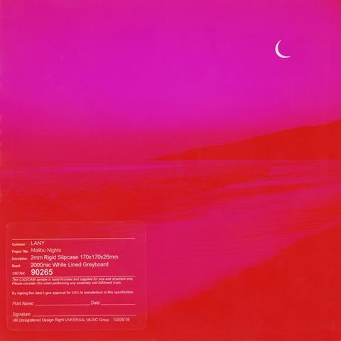 LANY: Malibu Nights CD