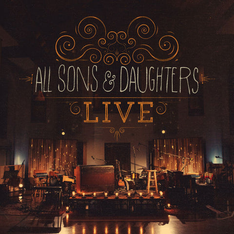 All Sons & Daughters: Live Deluxe Edition CD/DVD
