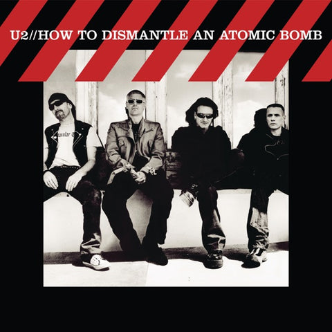 U2: How To Dismatle An Atomic Bomb Vinyl LP