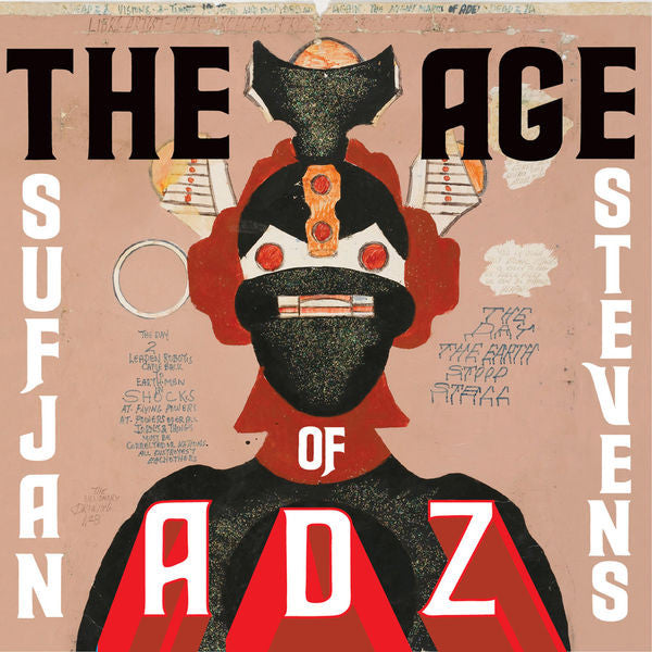 Sufjan Stevens: The Age of Adz Vinyl LP