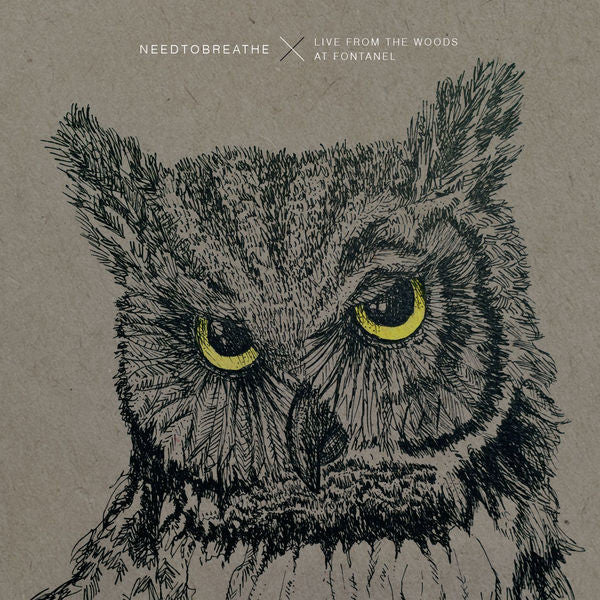 Needtobreathe: Live From The Woods Vinyl LP + CD