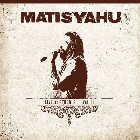 Matisyahu: Live At Stubbs Vol. 2 Vinyl LP