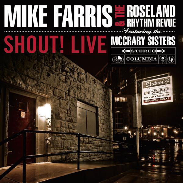 Mike Farris: Shout! Live CD