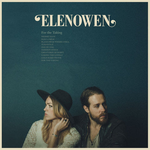 Elenowen: For The Taking CD