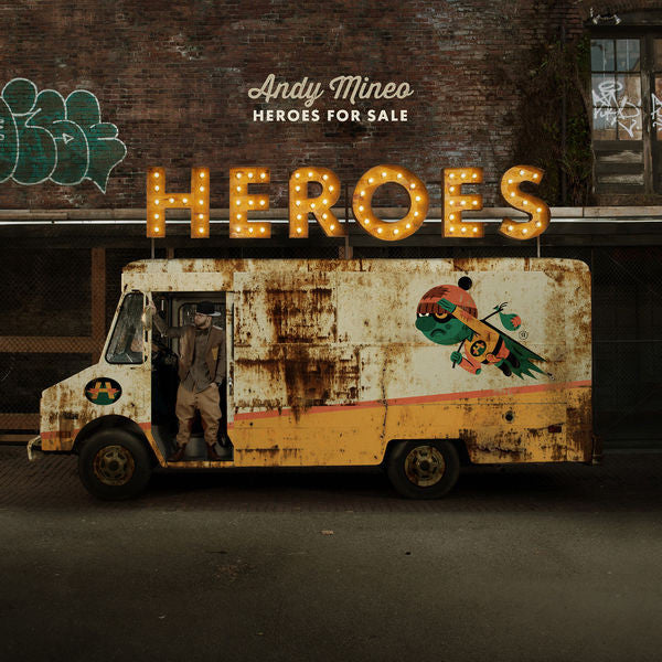 Andy Mineo: Heroes For Sale CD