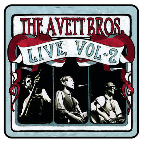 The Avett Brothers: Live, Vol. 2 CD