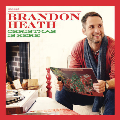 Brandon Heath: Christmas Is Here Vinyl LP