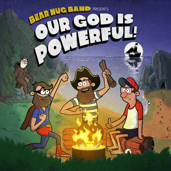 Bear Hug Band: Our God Is Powerful CD