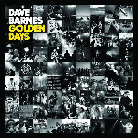 Dave Barnes: Golden Days CD