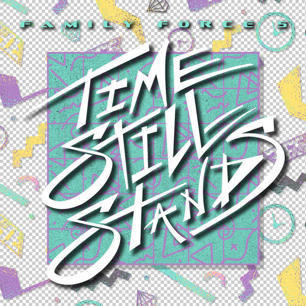 Family Force 5: Time Stands Still Remix CD