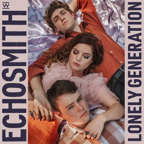 Echosmith: Lonely Generation Vinyl LP (Limted Edition Color)