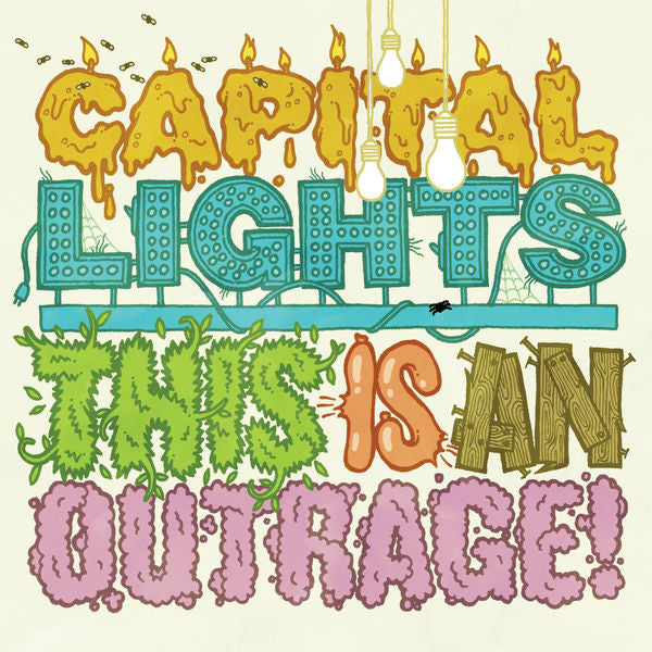 Capital Lights: This Is An Outrage CD