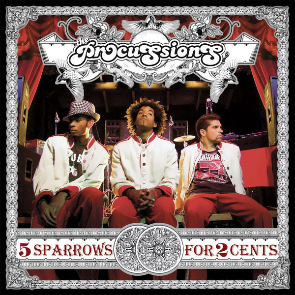 The Procussions: 5 Sparrows For 2 Cents CD