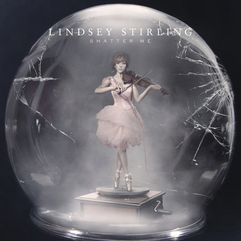 Lindsey Stirling: Shatter Me Limited Edition Neon Pink Vinyl LP