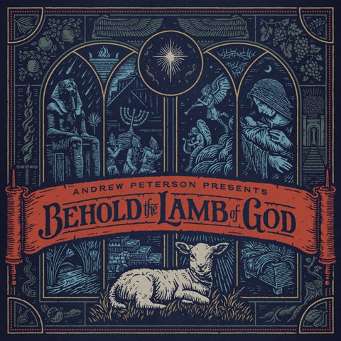 Andrew Peterson: Behold The Lamb of God Vinyl LP (2019 edition)