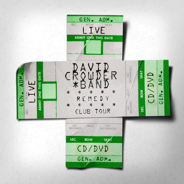 David Crowder Band: Remedy Club Tour Edition CD/DVD