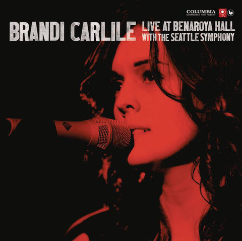 Brandi Carlile: Live at Benaroya Hall CD