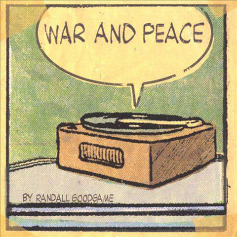 Randall Goodgame: War and Peace CD