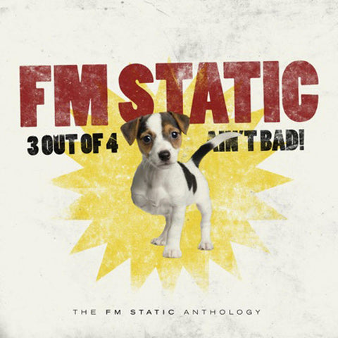 FM Static: 3 Out Of 4 Ain't Bad 3-CD Set