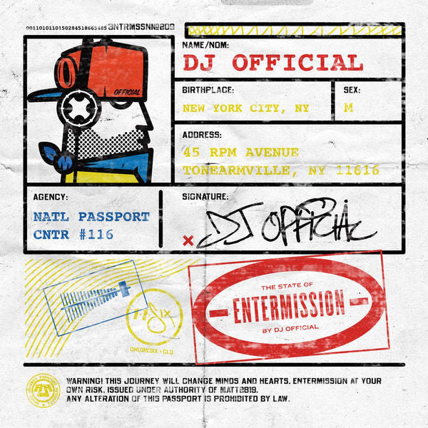 DJ Official: Entermission CD