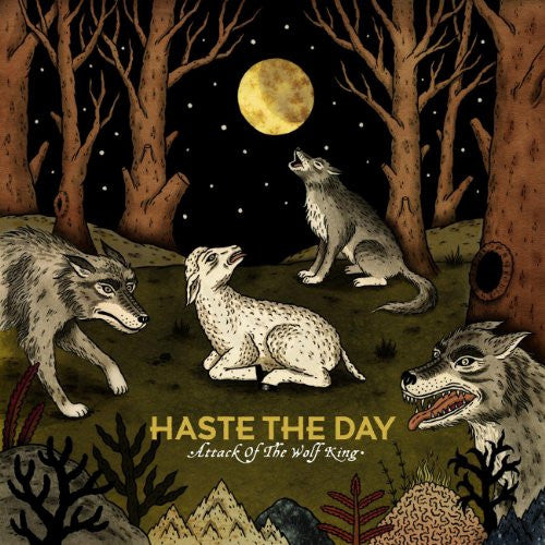 Haste The Day: Attack Of The Wolf King CD
