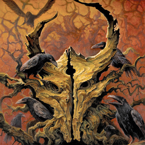 Demon Hunter: The Triptych Vinyl LP (Mustard)