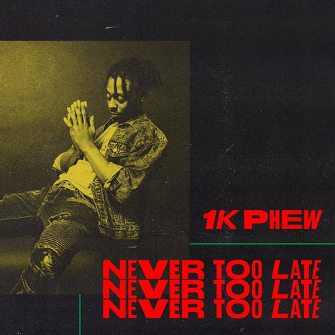 1k Phew: Never Too Late CD