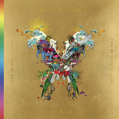 Coldplay: Live In Buenos Aires CD / Live In Sao Paulo DVD / A Head Full of Dreams DVD