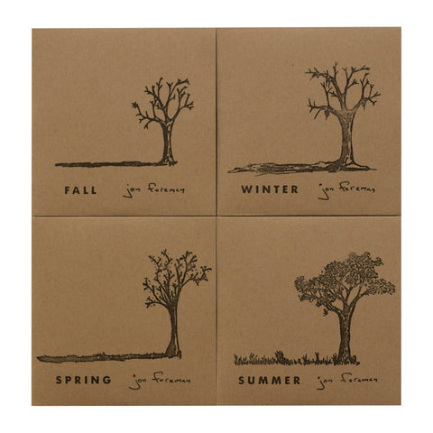 Jon Foreman: Seasons - 4 CD Set