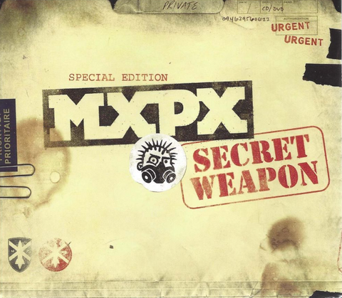 MxPx: Secret Weapon Special Edition CD/DVD