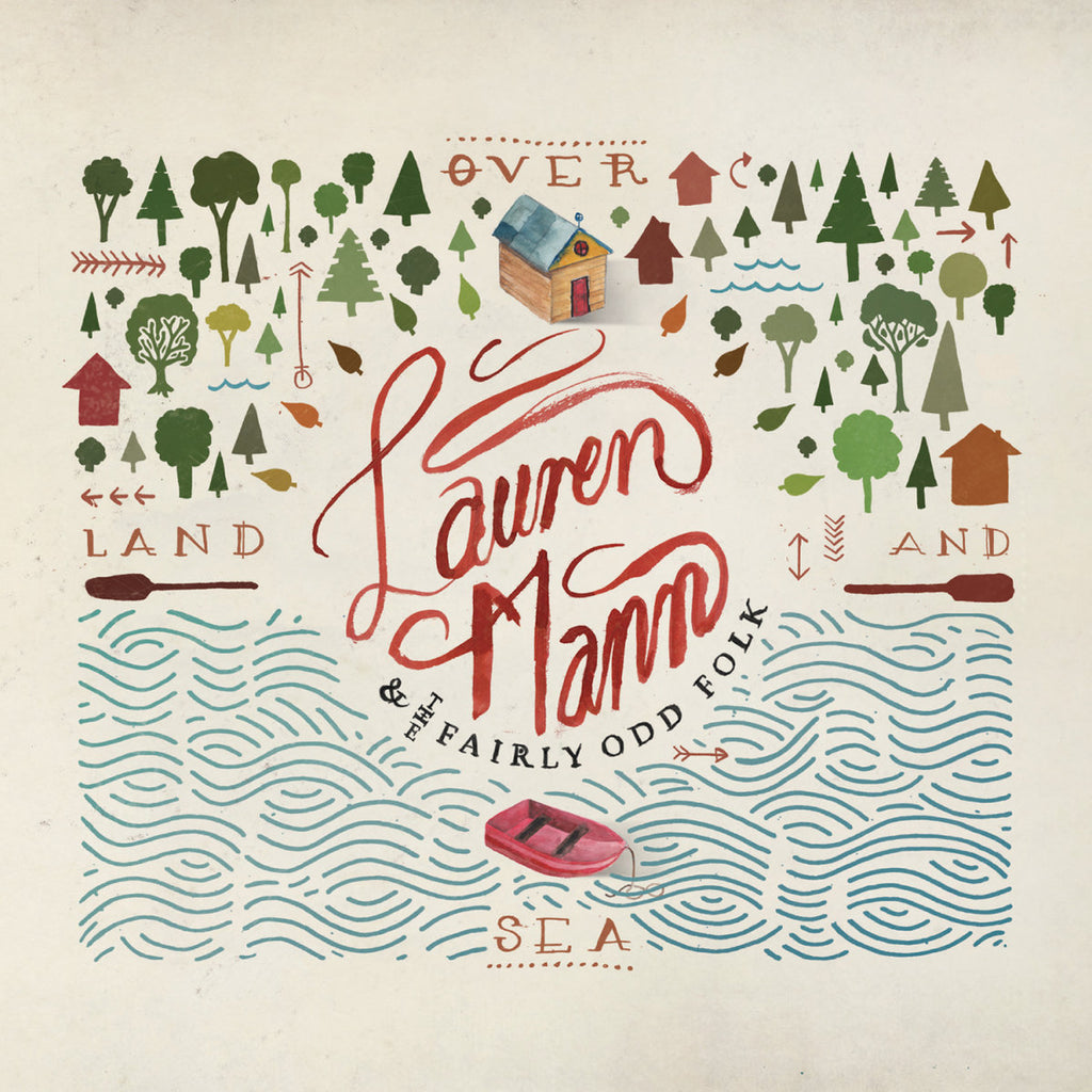 Lauren Mann and The Fairly Odd Folk: Over Land and Sea Deluxe CD