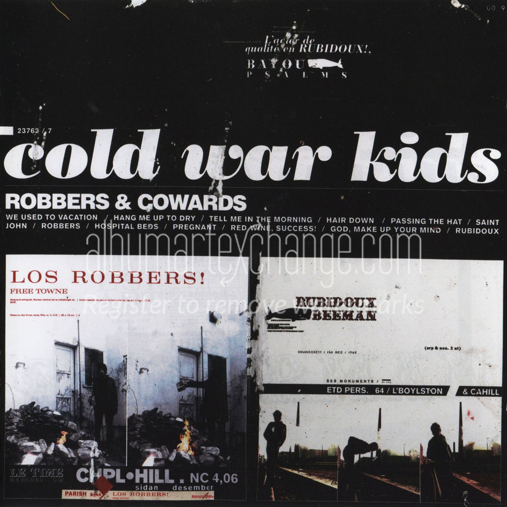 Cold War Kids: Robbers & Cowards CD