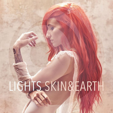 Lights: Skin & Earth Vinyl LP