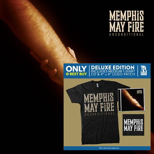 Memphis May Fire: Unconditional CD + T-Shirt