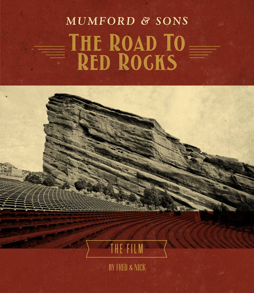 Mumford & Sons: The Road To Red Rocks DVD