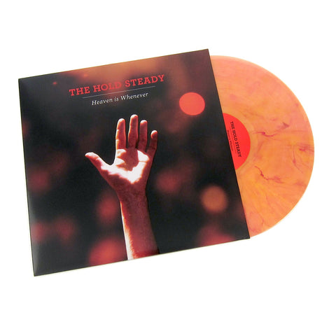 The Hold Steady: Heaven Is Whenever Deluxe Anniversary Edition Vinyl LP (Red/Orange)