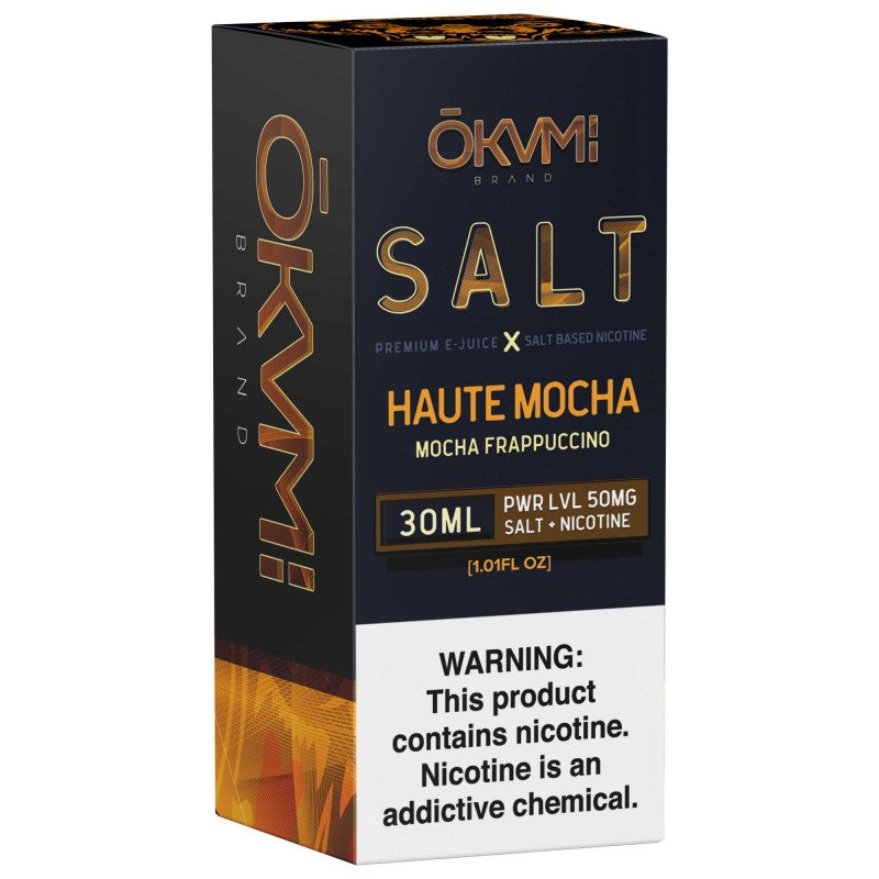 Okami Salt - Haute Mocha 30mL