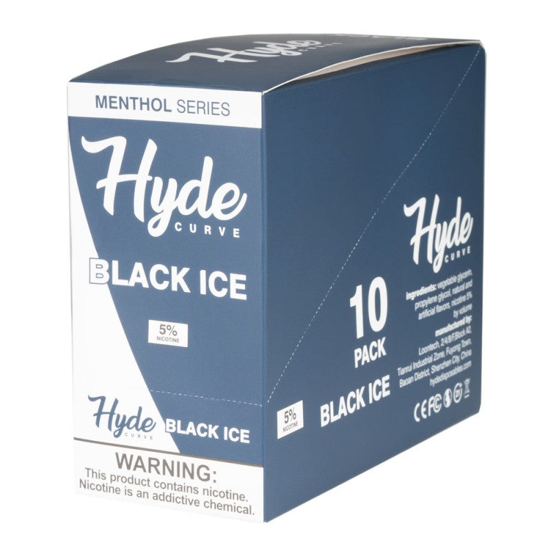 Hyde Curve S Menthol Series Singles 50mg