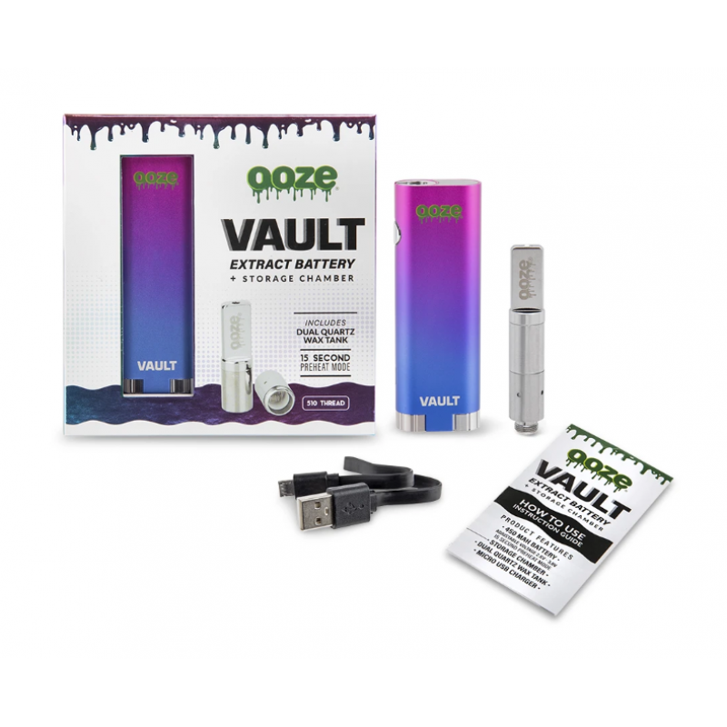 OOZE Vault Extract Battery + Storage Chamber