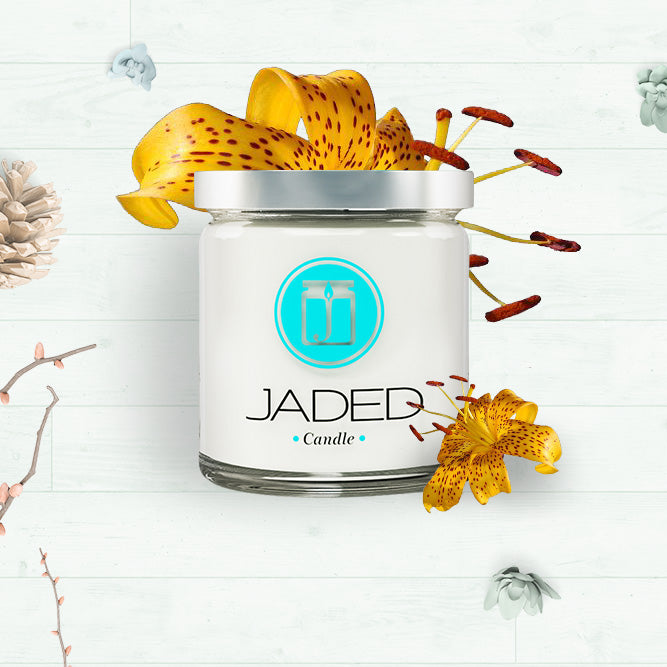 Jaded Candle Soy Wax Scented Candle Citronella Candle