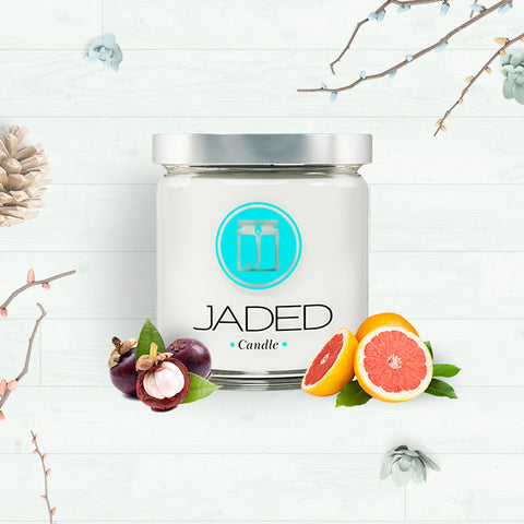 Jaded Candle Soy Wax Scented Candle Grapefruit Mangosteen Candle