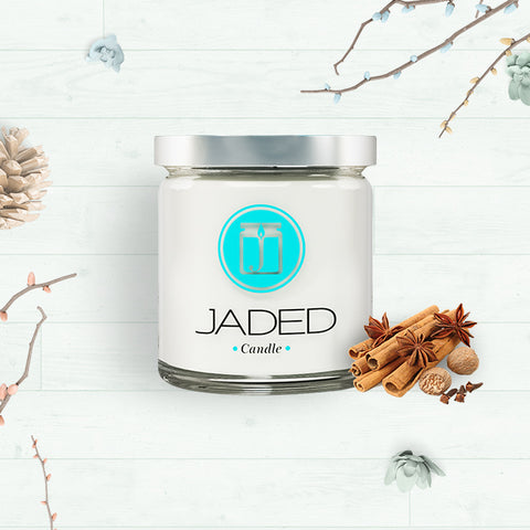 Jaded Candle Soy Wax Scented Candle Antique Sandalwood Candle
