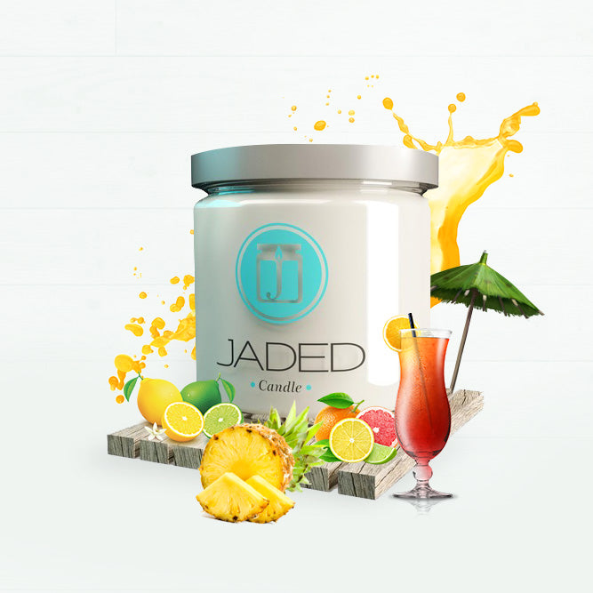 Jaded Candle Soy Wax Scented Candle Jamaica Me Crazy Candle