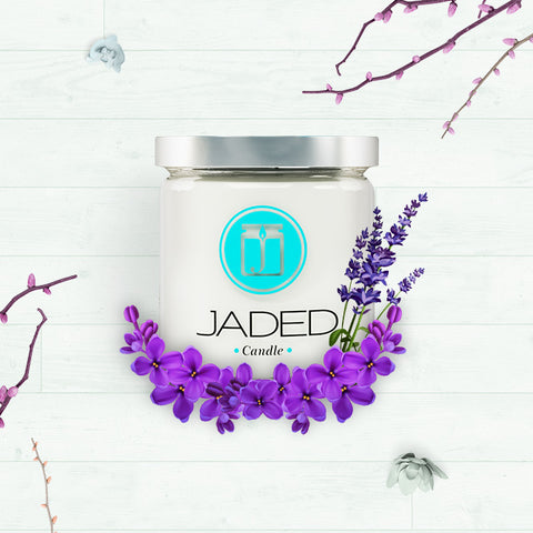 Jaded Candle Soy Wax Scented Candle Lavender Candle