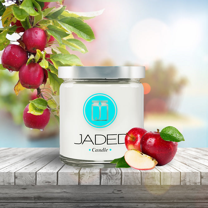 Jaded Candle Soy Wax Scented Candle Macintosh Apple Candle