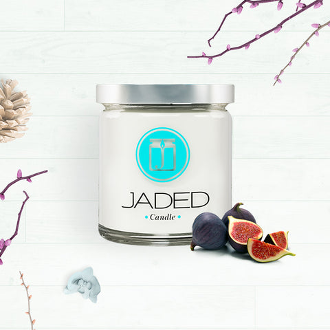 Jaded Candle Soy Wax Scented Candle Mediterranean Fig Candle