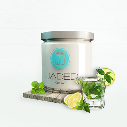 Jaded Candle Soy Wax Scented Candle Mint Mojito Candle