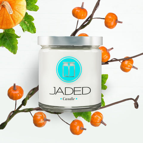 Jaded Candle Soy Wax Scented Candle Pumpkin Pie Candle