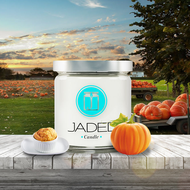 Jaded Candle Soy Wax Scented Candle Pumpkin Souffle Candle